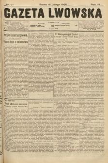Gazeta Lwowska. 1928, nr37