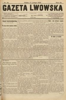 Gazeta Lwowska. 1928, nr39
