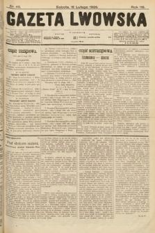 Gazeta Lwowska. 1928, nr40