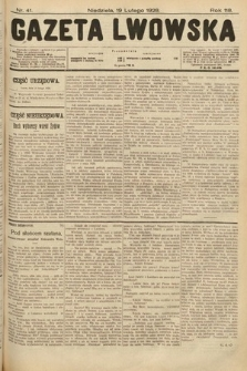 Gazeta Lwowska. 1928, nr41