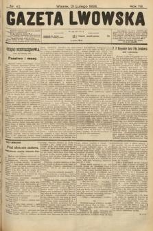 Gazeta Lwowska. 1928, nr42