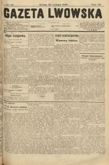 Gazeta Lwowska. 1928, nr43