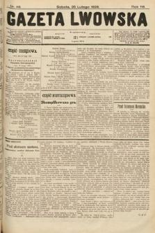 Gazeta Lwowska. 1928, nr46