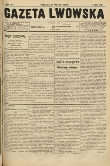 Gazeta Lwowska. 1928, nr54
