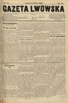 Gazeta Lwowska. 1928, nr73