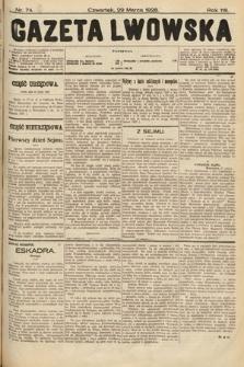 Gazeta Lwowska. 1928, nr74