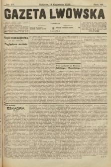 Gazeta Lwowska. 1928, nr87