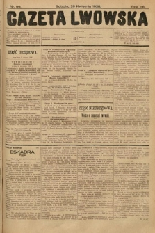 Gazeta Lwowska. 1928, nr99