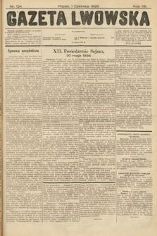 Gazeta Lwowska. 1928, nr124