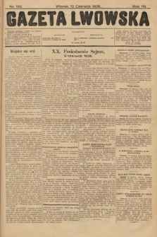 Gazeta Lwowska. 1928, nr132