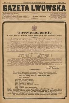 Gazeta Lwowska. 1928, nr143