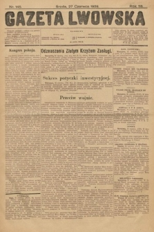 Gazeta Lwowska. 1928, nr145