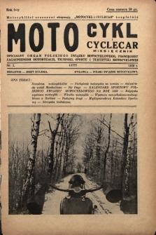 Motocykl i Cyclecar : oficjalny organ Polskiego Związku Motocyklowego, poświęcony zagadnieniom motoryzacji, techniki, sportu i turystyki motocyklowej. 1939, nr2