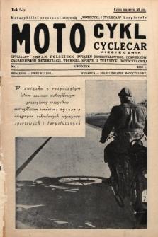 Motocykl i Cyclecar : oficjalny organ Polskiego Związku Motocyklowego, poświęcony zagadnieniom motoryzacji, techniki, sportu i turystyki motocyklowej. 1939, nr4