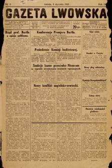 Gazeta Lwowska. 1930, nr3