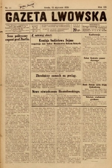 Gazeta Lwowska. 1930, nr11