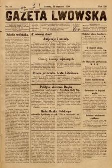 Gazeta Lwowska. 1930, nr14