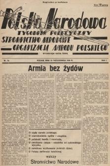 Polska Narodowa : tygodnik polityczny. 1936, nr7a (2-gi nakład po konfiskacie)