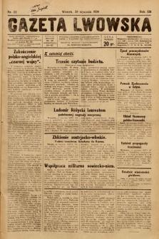 Gazeta Lwowska. 1930, nr22