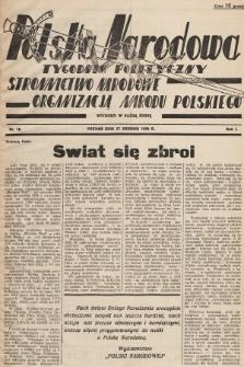 Polska Narodowa : tygodnik polityczny. 1936, nr16
