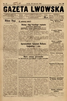 Gazeta Lwowska. 1930, nr23