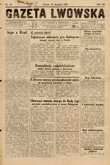 Gazeta Lwowska. 1930, nr25