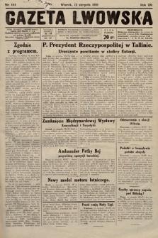 Gazeta Lwowska. 1930, nr184