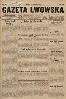 Gazeta Lwowska. 1930, nr185