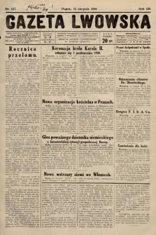 Gazeta Lwowska. 1930, nr187