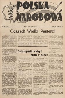Polska Narodowa. 1939, nr8