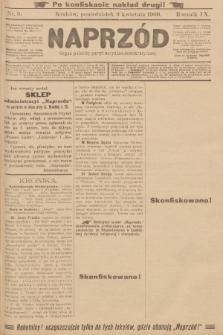 Naprzód : organ polskiej partyi socyalno-demokratycznej. 1900, nr9 (po konfiskacie nakład drugi!)