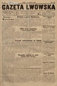 Gazeta Lwowska. 1930, nr192