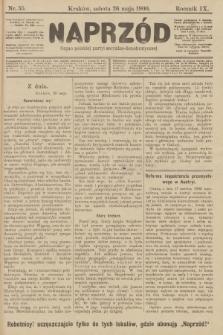Naprzód : organ polskiej partyi socyalno-demokratycznej. 1900, nr55 [po konfiskacie nakład drugi!]
