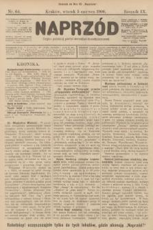Naprzód : organ polskiej partyi socyalno-demokratycznej. 1900, nr64