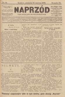 Naprzód : organ polskiej partyi socyalno-demokratycznej. 1900, nr83