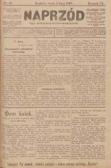 Naprzód : organ polskiej partyi socyalno-demokratycznej. 1900, nr93