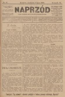 Naprzód : organ polskiej partyi socyalno-demokratycznej. 1900, nr97