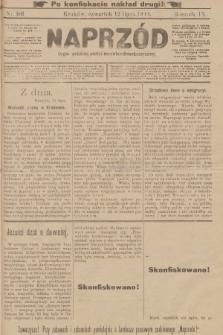 Naprzód : organ polskiej partyi socyalno-demokratycznej. 1900, nr101 (po konfiskacie nakład drugi!)