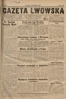 Gazeta Lwowska. 1930, nr207