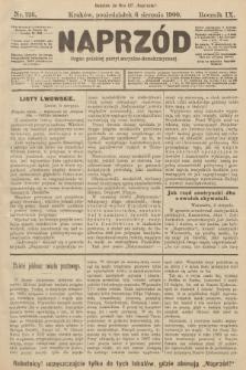Naprzód : organ polskiej partyi socyalno-demokratycznej. 1900, nr126