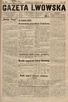 Gazeta Lwowska. 1930, nr209