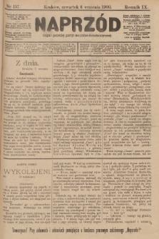 Naprzód : organ polskiej partyi socyalno-demokratycznej. 1900, nr157