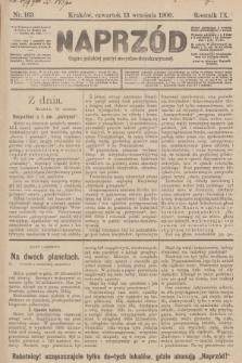 Naprzód : organ polskiej partyi socyalno-demokratycznej. 1900, nr163 [nakład pierwszy skonfiskowany]