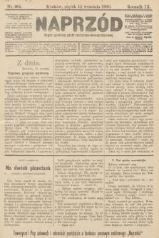 Naprzód : organ polskiej partyi socyalno-demokratycznej. 1900, nr164 [nakład pierwszy skonfiskowany]