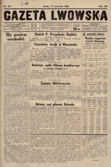 Gazeta Lwowska. 1930, nr214