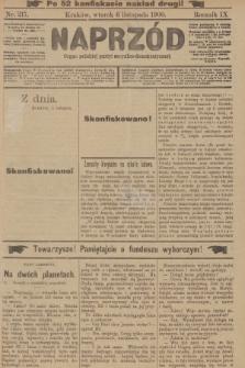 Naprzód : organ polskiej partyi socyalno-demokratycznej. 1900, nr217 (po konfiskacie nakład drugi!)