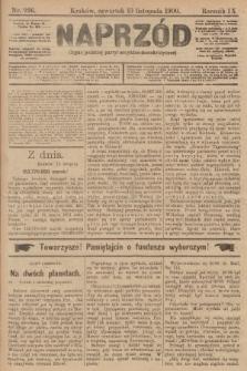 Naprzód : organ polskiej partyi socyalno-demokratycznej. 1900, nr226
