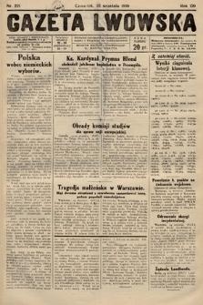 Gazeta Lwowska. 1930, nr221