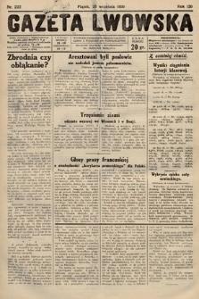 Gazeta Lwowska. 1930, nr222