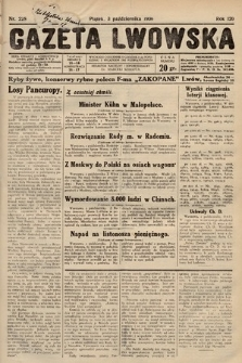 Gazeta Lwowska. 1930, nr228